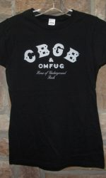 CBGB t-shirt punk rock tee