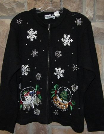 ugly Christmas cardigan sweater