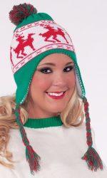 Reindeer Games novelty Christmas hats