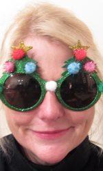 Christmas sunglasses Christmas glasses