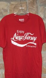 Enjoy New Jersey design t-shirt