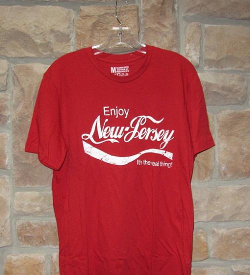 Enjoy New Jersey design t-shirt