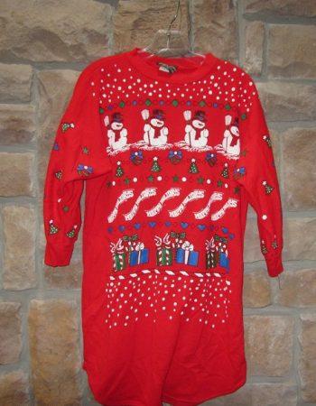 ugly Christmas sweatshirts