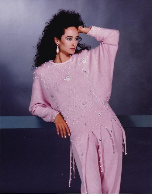 Bonnie Boerer sweaters beaded fringe sequin sweaters