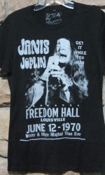Janis Joplin t-shirt Freedom Hall