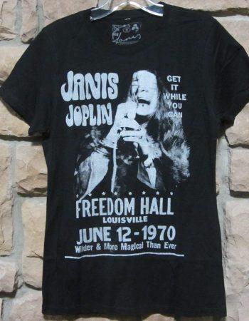 Janis Joplin t-shirt Freedom Hall