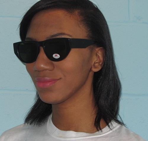 Hipster frames black sunglasses