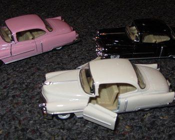 53 Cadillac toy car