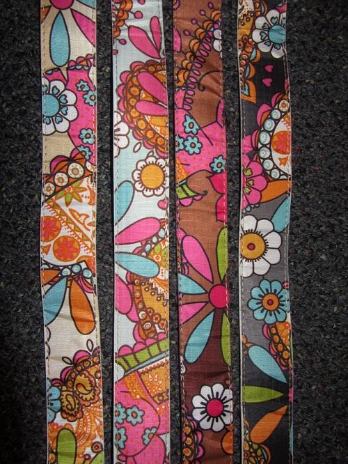 60s floral belts