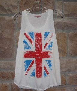 union jack tank top British Invasion