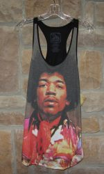 Jimi Hendrix fashion tank top