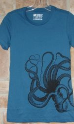 kraken art t-shirt
