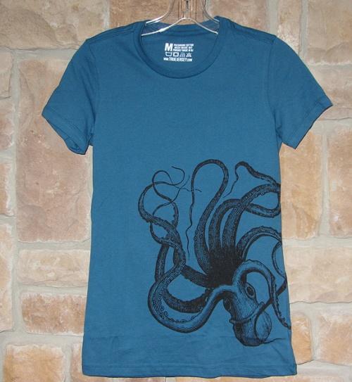 kraken art t-shirt