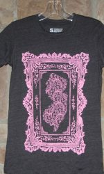 New Jersey Victorian picture frame t-shirt