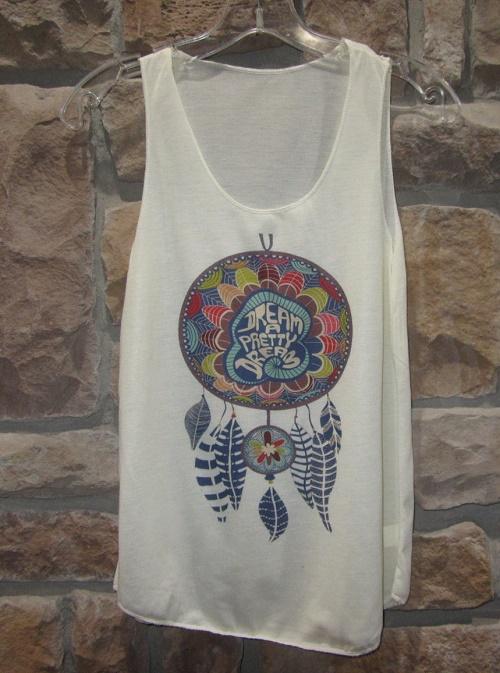 dreamcatcher design shirt