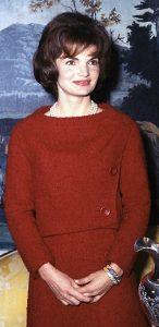 celebrity fashion icons Jackie Kennedy