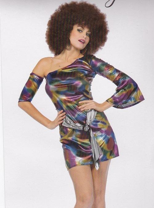 1970s disco woman dress Disco Doll
