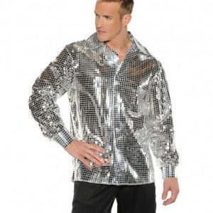 mirror disco ball shirt