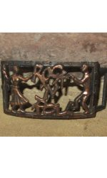 Rockabilly dancers belt buckle Vintage buckle