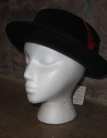 Debbie Gibson hat side view