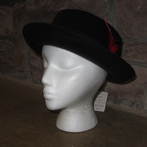 Debbie Gibson hat side view