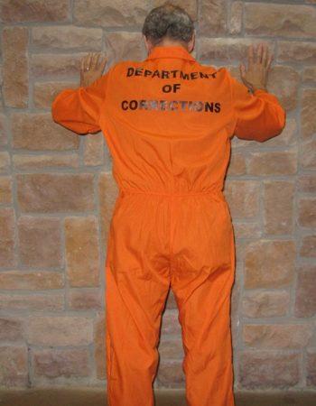 jail jumpsuit orange prisoner jumpsuit