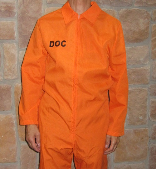 jail jumpsuit prisoner jumpsuit
