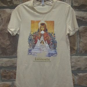Labyrinth t-shirt David Bowie t-shirt
