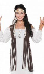 fringed vest hippie vest