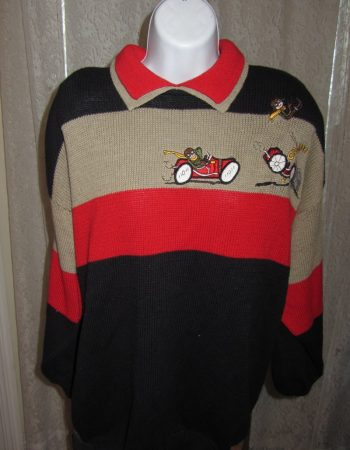 Bonnie Boerer sweaters: Crash!