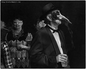 2nd annual Asbury Park Mardi Gras Masquerade Ball long nose mask