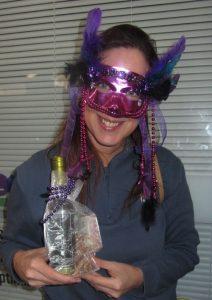 2nd Annual Asbury Park Mardi Gras adult mask winner