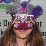 2nd Annual Asbury Park Mardi Gras kids mask winner