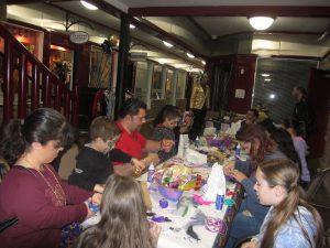 2nd Annual Asbury Park Mardi Gras mask making