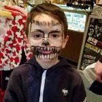 2nd Annual Asbury Park Mardi Gras face painting