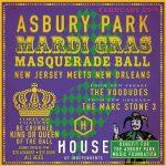 2nd Annual Asbury Park Mardi Gras poster