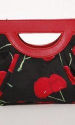 1950's style cherry purse