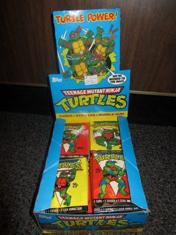 Teenage Mutant Ninja Turtles cards