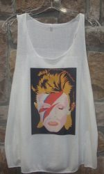 David Bowie Aladdin Sane Tank Top