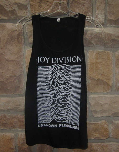 Joy Division Unknown Pleasures shirt tank top