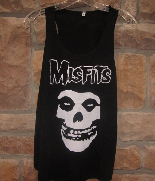 Misfits tank top Misfits skull