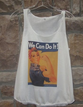 Rosie the Riveter Shirt tank top We Can Do it tank top
