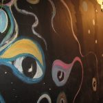 Upstage Club eye mural