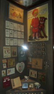 Buster Brown shoe store memorabilia