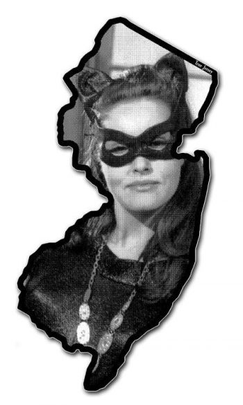 Catwoman New Jersey bumper sticker