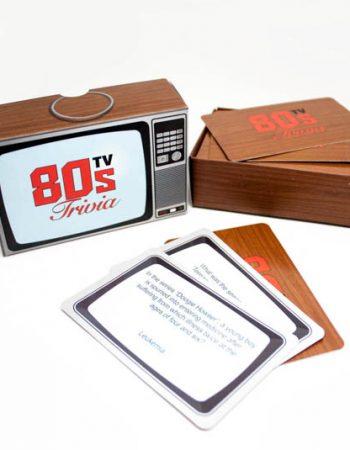 80s TV show trivia cards