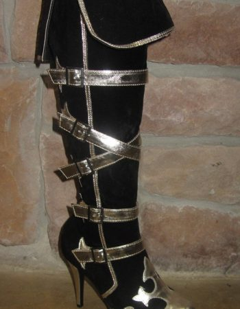Womens pirate boots Steampunk boots