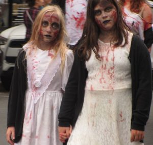 Asbury Park Zombie walk Fall fun