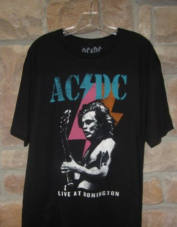 ACDC Angus t shirt Live at Donington