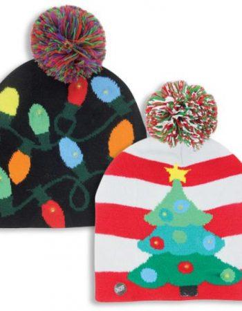 light up hats Christmas hats